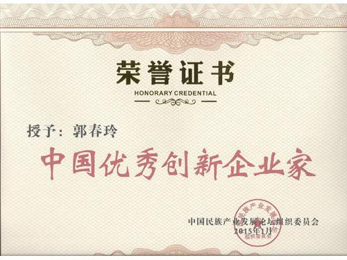 2015.1中国优秀创新企业家